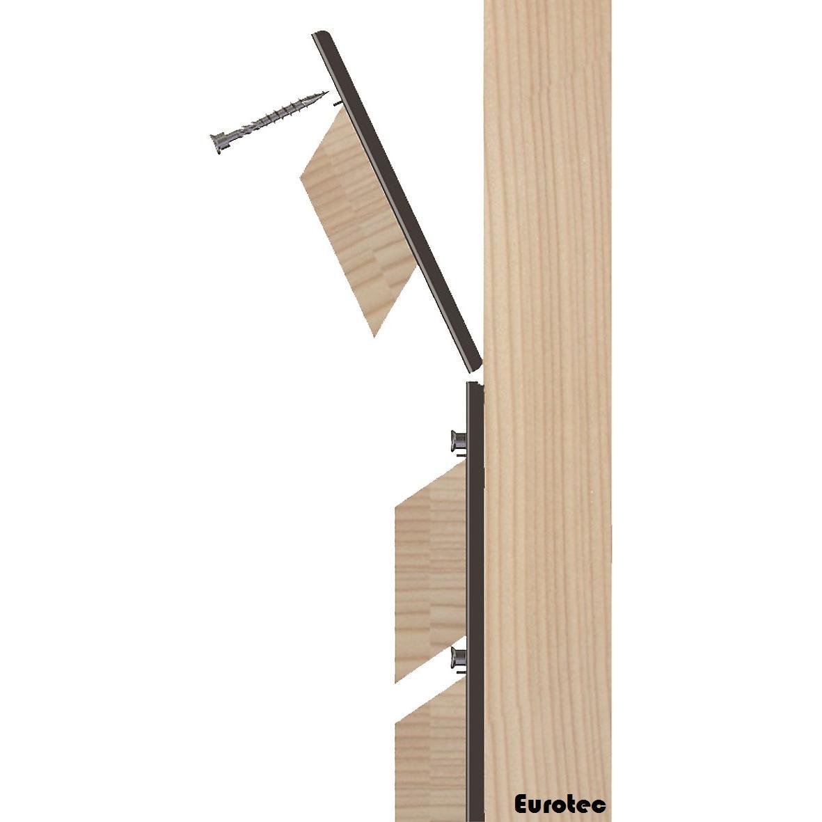 Clip pour fa ade jffix for Bardage en bois pour facade